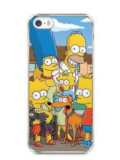 Capa Iphone 5/S Família Simpsons #1