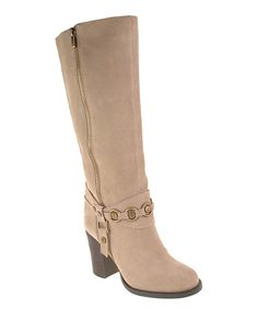 Look at this Chinese Laundry Stone Backstreet Suede Boot on #zulily today!