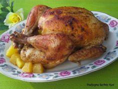 Na niedzielny obiad polecam kurczaka pieczonego z mango. Potrawa jest bardzo łatwa do przygotowania. Połączenie kurczaka z mango było strzał...
