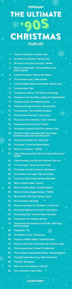 Celebrate the season with these super rad '90s Christmas jams!