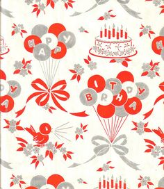 Vintage Wrapping Paper by antiquesgaloregal, via Flickr