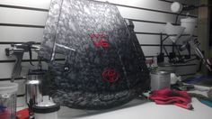 Toyota Tacoma engine cover. #hydrographics