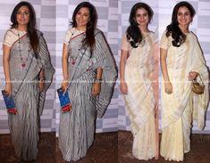 Mini Mathur And Rasika Dugal Wear Anavila Saris To The Designer's Store Launch…