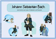 Johann Sebastian Bach (Wissenskartei und Lapbookvorlagen) In Sebastian Bach, Johann Sebastian, Primary Education, Music Education, Higher Education, Advent Season, Wasting Time, Booklet, Growing Up
