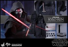 Star Wars The Force Awakens Kylo Ren Sixth-Scale Figure