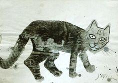"""""""Kici kici miau"""" by Józef Wilkoń (author/illustrator)"""