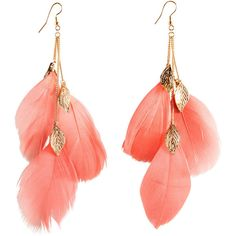 How To Make Your Own Feather Earnings Chain Earrings Tel