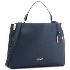 0ca115435428 Дамска чанта LIU JO - L Top Handle Isola A68002 E0087 Blue Oltreoceano 94121