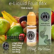 Our Fruit Mix eliquid is a sweet, fruity flavor that is similar to the taste of the canned mixed fruit. It has hints of cherry, peach and pear. #eliquid #ecigarettes #fruitmix #10ml