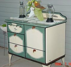 Vintage stove Just like your dollhouse one