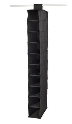 Fantastic Ikea Skubb Hanging Clothes Closet Storage Shoes Organizer Rack  Black