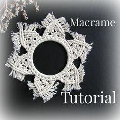 Macrame patterns. Macrame tutorial. DIY Macrame wall hanger. DIY Macrame. Macrame flower pattern. Step by Step Macrame. Modern macrame.