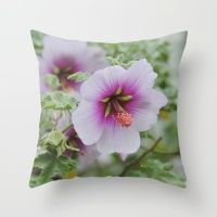 Gentle Hues Throw Pillow