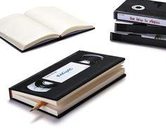 VHS Notebooks--a reminder of my era. #consideredretronow #notcomplaining #90skid