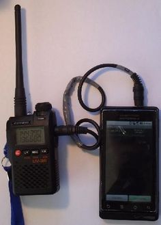 APRS using a Droid phone and Baofeng UV3R