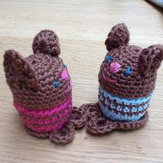 Vriendjes gehaakt door Erna       Crochet easter
