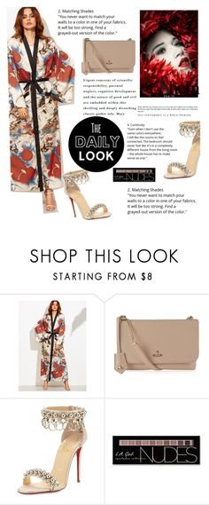 """Shein contest"" by mell-2405 ❤ liked on Polyvore featuring Vivienne Westwood, Christian Louboutin and Charlotte Russe"