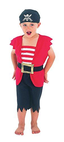 91f30cb57fd84 Bristol Novelty Pirate Boy Toddler Costume Costume Age 2 -3 Years Best  Halloween Costumes   Dresses