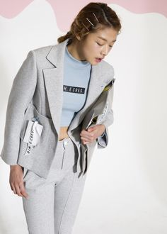 Bang Joo Ho and Choi A Ra for Dim E. Cres Spring 2015 collection