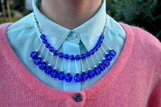 DIY Necklace : DIY Statement Necklace