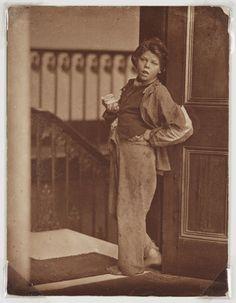 The Matchseller', c 1860s.   Oscar Rejlander