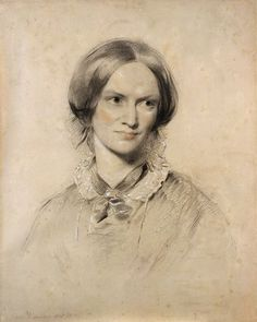 Charlotte Brontë (born 21 April, 1816; died 31 March, 1855), pictured above in an 1850 drawing by George Richmond, now in the collection of the National Portrait Gallery, London