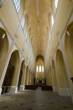 Cathedral of our lady at Sedlec Sanctuary in Czech Republic