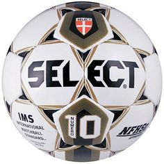 Select Numero 10 Soccer Ball (White/Gold/Black, Size 4) by Select. $43.55