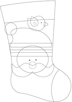Christmas Swags, Felt Christmas, All Things Christmas, Christmas Stocking Pattern, Felt Stocking, Christmas Crafts For Kids, Holiday Crafts, Christmas Cards Drawing, Christmas Photo Booth