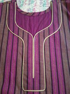Chudithar Neck Designs, Neck Designs For Suits, Neckline Designs, Stylish Dress Designs, Blouse Neck Designs, Salwar Suit Neck Designs, Kurta Neck Design, Churidar Designs, Piping Design