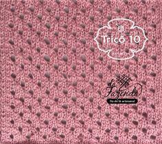 Tricô 10 - Knit & Purl: TRICOCIONÁRIO - AJ-0014
