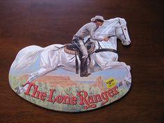 "1981 ""The Lone Ranger"" Rocking Books: Removed Vintage Children's Books, Vintage Toys, Little Cowboy, The Lone Ranger, Children Books, Lonely, Good Books, Antiques, Illustration"