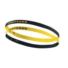 Amazon.com   Nike Livestrong Stretchy Sport Hairbands Headband Yellow Black  6 Pack   Sports   Outdoors dae100413ba