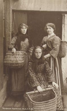 Fishwives, Newbiggin-By-the-Sea, Northumberland