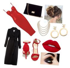 """Jessica Rabbit"" by vovo-love ❤ liked on Polyvore featuring Monsoon, Qupid, Rodo, DaVonna and Chanel"