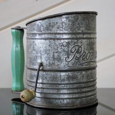 Antique Flour Sifter by Bromwell