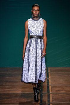 Beautiful Dresses, Nice Dresses, Short Dresses, Summer Dresses, Vogue Paris, Backstage, Feminine Dress, Fashion Images, Fashion Show Collection