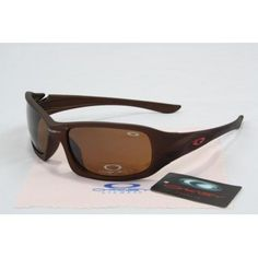 2013 new Oakley Fives Sunglasses matte deep brown frames brown lens | See more about oakley, sunglasses and frames.