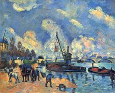 Paul Cezanne Most Famous Works | The Seine at Bercy