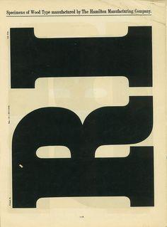 Hamilton Wood Type Catalog #14