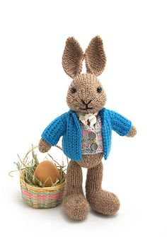 Ravelry: Well-Dressed Bunny pattern by Barbara Prime - Some day I will make this bunny and his suit, and if it is the last thing I do, I will die happy :)