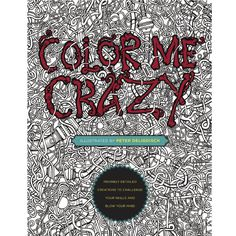 Color Me Crazy isn't your average coloring book. Filled with intricately detailed line art, it features 44 hand-drawn creations awaiting colored pencils or markers. From the mind and expert hand of popular illustrator Peter Deligdisch, this stunning book will appeal to anyone who likes to doodle, draw, relax, get in the zone, or get the creative juices flowing. Not just for kids anymore, coloring at this level delivers a deeply satisfying experience that will delight creative souls of all…