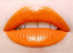 Though I'm not much of an orange lipstick fan, this shade actually looks rather nice. I figure whether or not I wear orange lipstick for Ivy all depends on whether or not I suit it. Orange Crush, Orange You Glad, Orange Is The New Black, Orange Color, Orange Peel, Orange Shades, Orange Style, Orange Twist, Lip Art