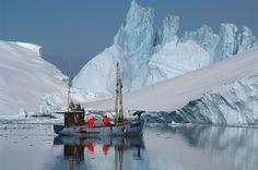 Ilulissat icefjord and Jakobshavn Glacier