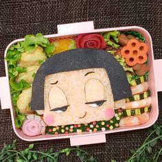 1,625 個讚好,0 則回應 - Instagram 上的 もねっち(@matae4281021):「 おはようございます🙂 * * 金曜日です‼️ * * 金曜といったらやっぱり * * 「チコちゃんに叱られる」😁 * * ということで * * チコちゃん弁当にしました♥️ * * * *… 」 Cute Bento Boxes, Lunch Box, Instagram