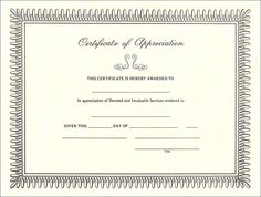 Partnership certificate of appreciation template templates free certificate of appreciation sample blank certificate of appreciation http yadclub Gallery