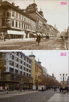 Praha v proměnách času VI. Prague Photos, Old Paintings, More Pictures, Czech Republic, Vintage Images, Time Travel, Old Photos, The Incredibles, Earth