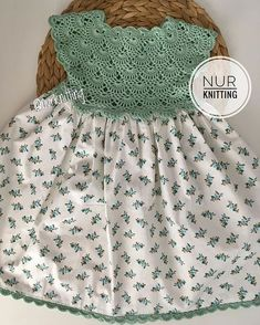 Baby Tulle Dress with Stretch Crochet Top and playful tulle bottom Baby Girl Crochet, Crochet Baby Clothes, Crochet For Kids, Sewing For Kids, Baby Tulle Dress, Little Dresses, Little Girl Dresses, Baby Knitting Patterns, Knitting Designs