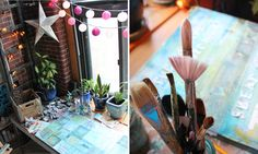 Corner studio, brushes. | Featured in my Quit Your Day Job i… | Flickr