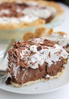 French Silk Pie - the ultimate delicious and classic dessert recipe.